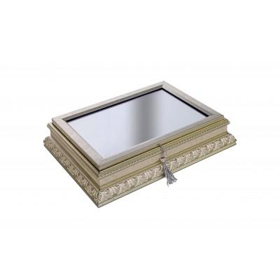 Dekoratif Kutu (Gümüş)