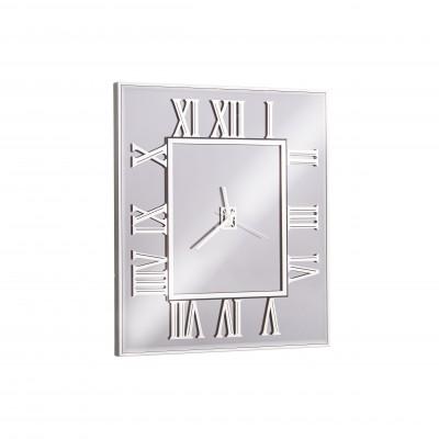 Şaşaa Duvar Saati Gümüş
