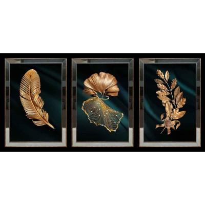 Yapraklar Aynalı Tablo