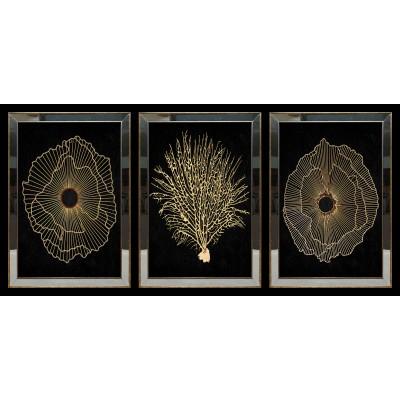 Gorgonia Aynalı Tablo